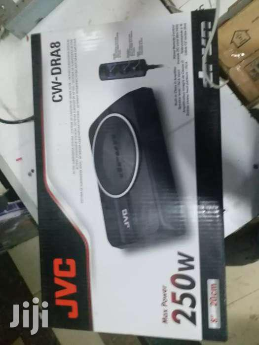 JVC 250 Watts 8 Inches Underseat  Subwoofer For That Extrabass