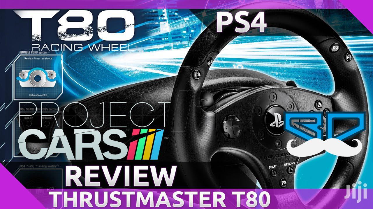 PS4 / PS3 Steering Wheel - T80 Racing Wheel | Thrustmaster