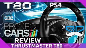 PS4 / PS3 Steering Wheel - T80 Racing Wheel | Thrustmaster | Video Game Consoles for sale in Nairobi, Nairobi Central