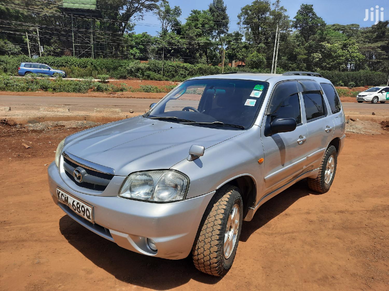 Mazda Tribute 2003 2.0 Comfort Silver
