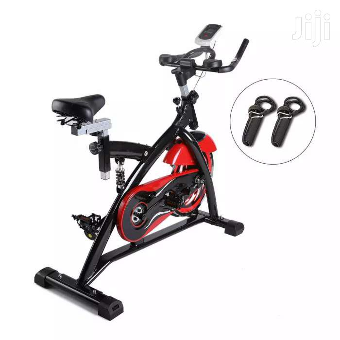 Ultra Quite Stationary Exercise Spinning Bike