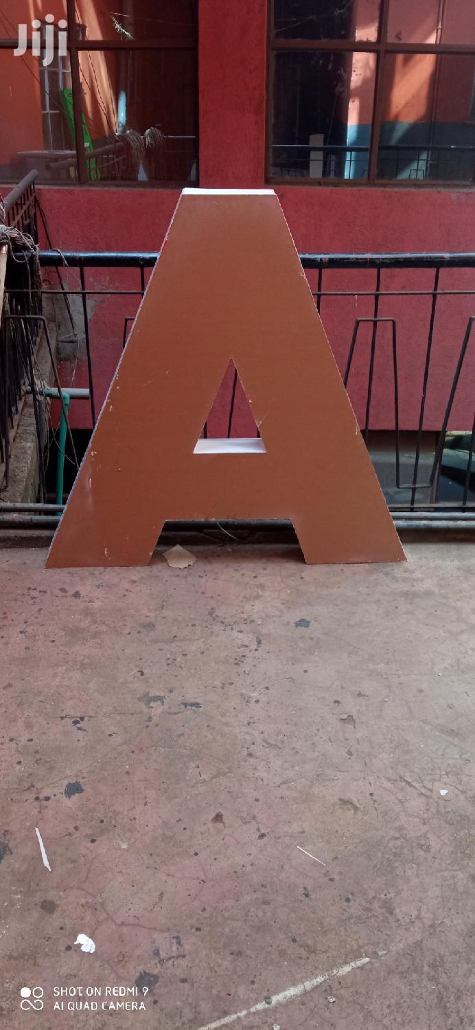 Stand Alone Letters | Manufacturing Services for sale in Nairobi Central, Nairobi, Kenya