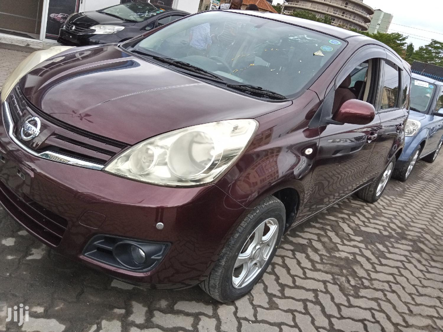 Nissan Note 2011 1.4 Red | Cars for sale in Tudor, Mombasa, Kenya