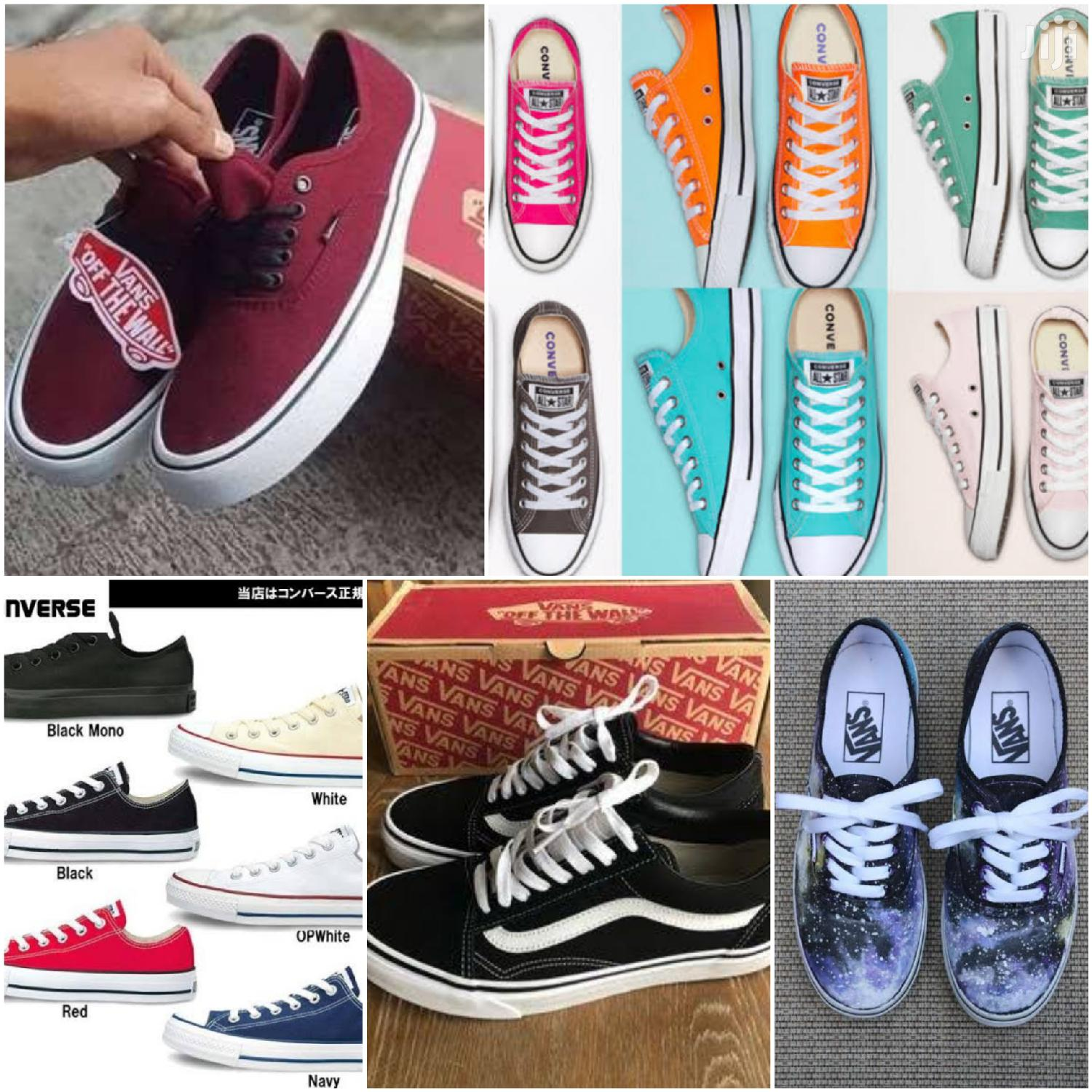 New Vans and Converse Shoes for Sale