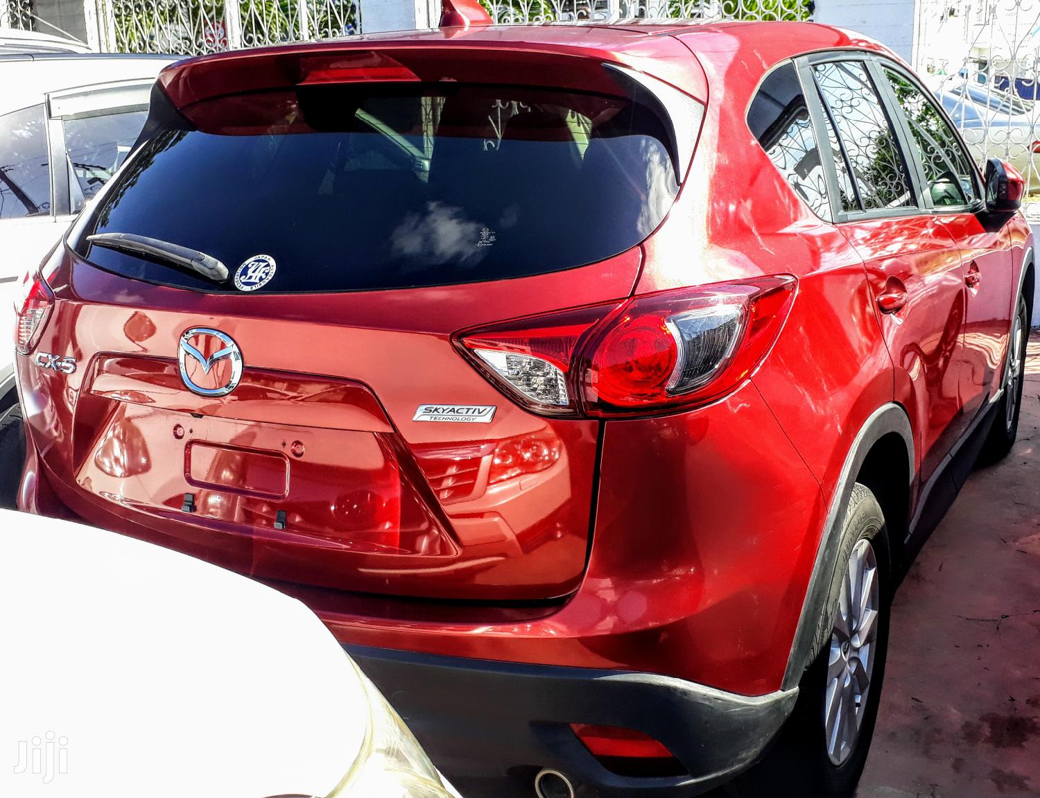 Archive: Mazda CX-5 2012 Red