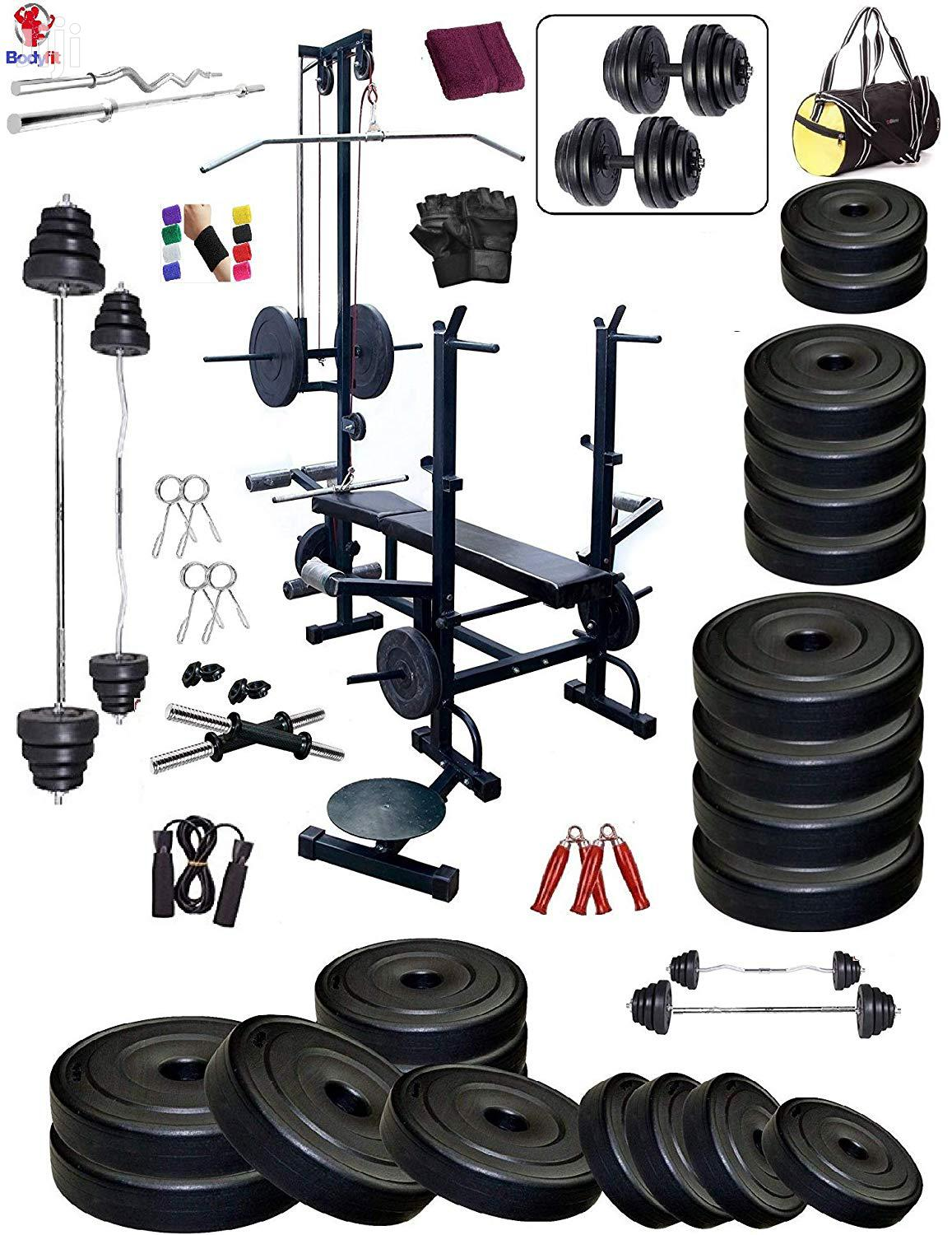 Archive: Gym Weights and Bars
