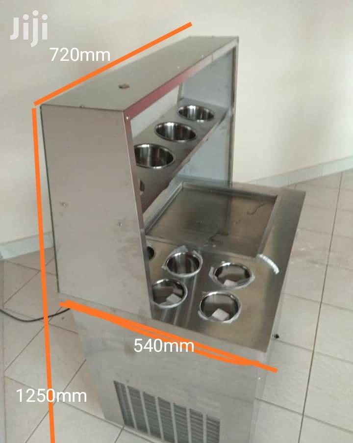 Ice Cream Rolls Machine Frozen Youghurt Fruit Juice Slusheez | Restaurant & Catering Equipment for sale in Nairobi Central, Nairobi, Kenya