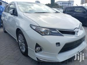 Toyota Auris 2015 White   Cars for sale in Mombasa, Mombasa CBD