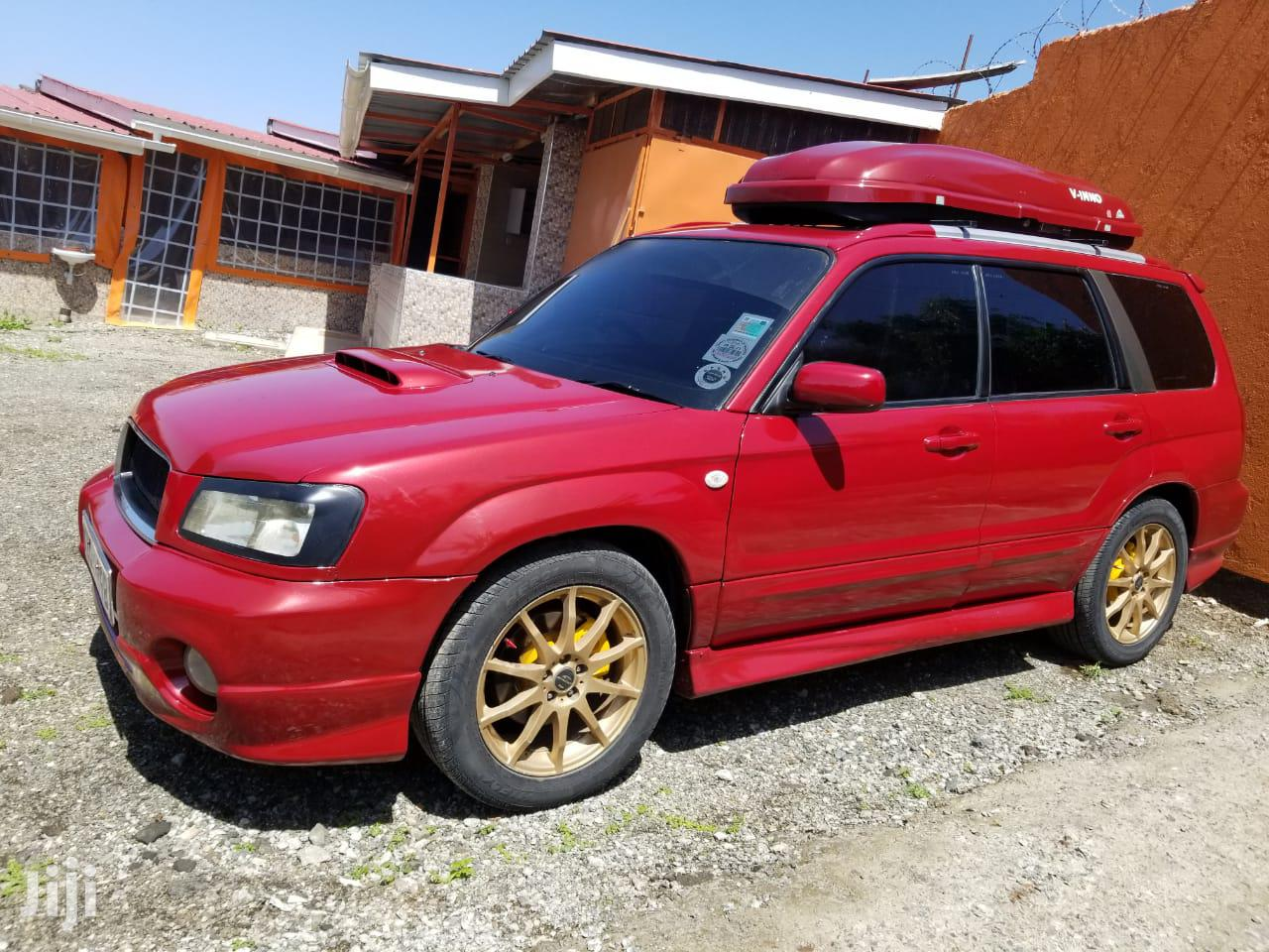 Subaru Forester 2005 Red