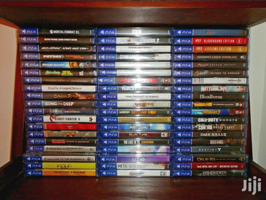 Ps4 Games Available 1899