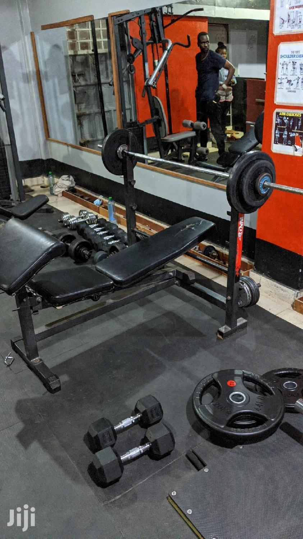 Commercial Gym Bench WNQ Incline, Flat and Decline | Sports Equipment for sale in Juja, Kiambu, Kenya