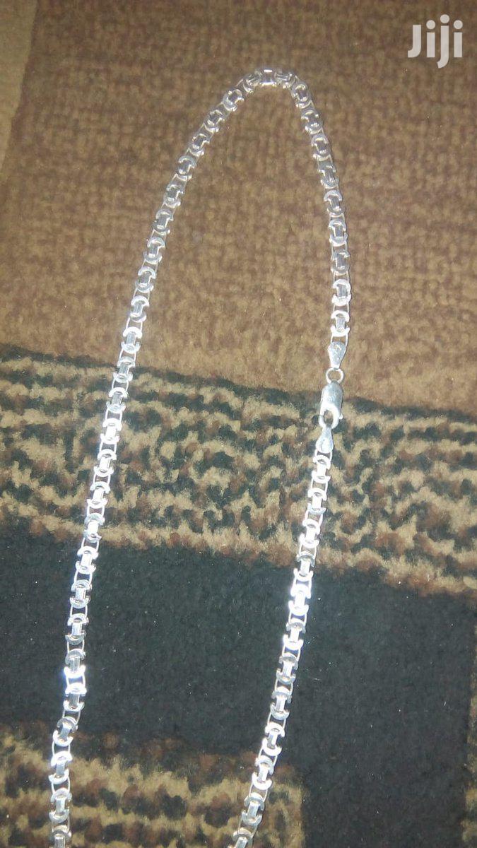 Pure Silver Cash Money Chain