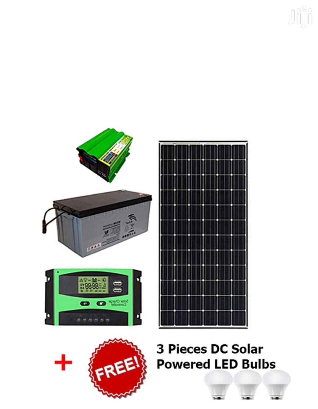 150W Full Kit Solar Lighting Systems
