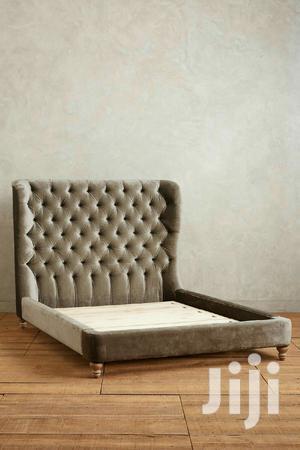 Tufted High Headboard Bed   Furniture for sale in Nairobi, Kilimani
