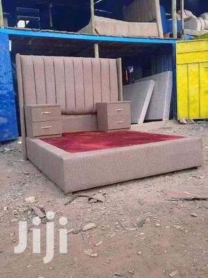 6 by 6 Chester Bed + Side Drawers | Furniture for sale in Nairobi, Kahawa
