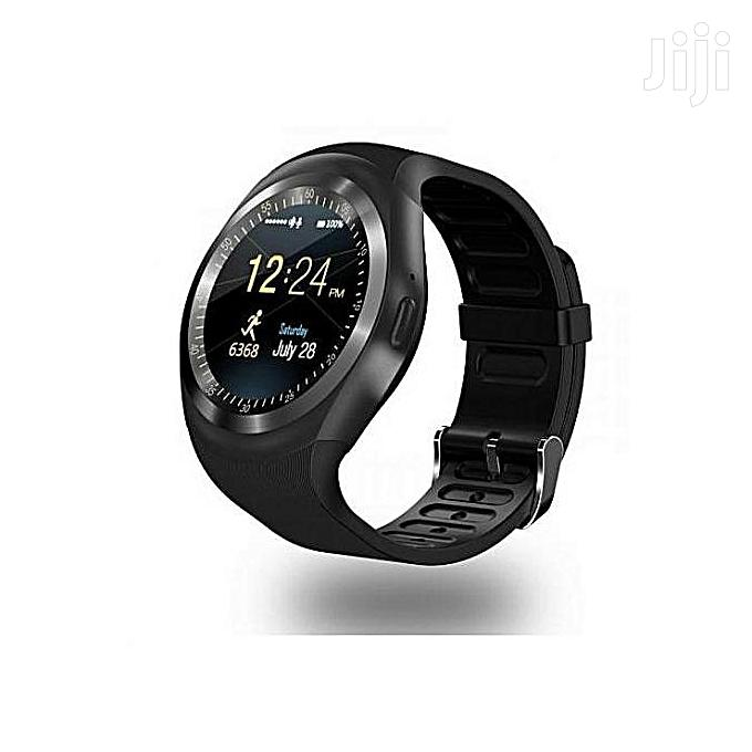 Smart Watch Y1 Fashion Sports Smart Phone | Smart Watches & Trackers for sale in Nairobi Central, Nairobi, Kenya