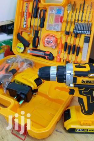 Quaranteed Dewalt Cordless Rechargeable Drill | Electrical Hand Tools for sale in Nairobi, Nairobi Central