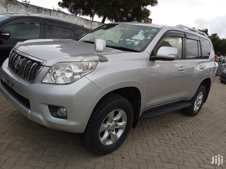 Toyota Land Cruiser Prado 2012 Silver | Cars for sale in Tudor, Mombasa, Kenya