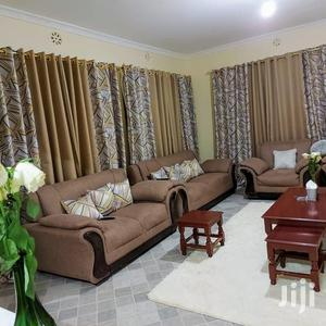 Fancy Brown Printed and Plain Curtains   Home Accessories for sale in Nairobi, Nairobi Central