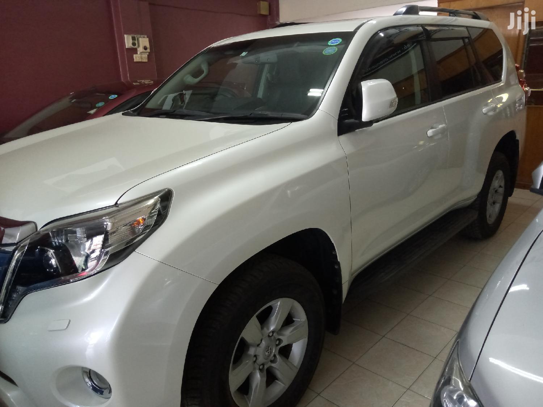 Toyota Land Cruiser Prado 2014 White   Cars for sale in Majengo, Mvita, Kenya