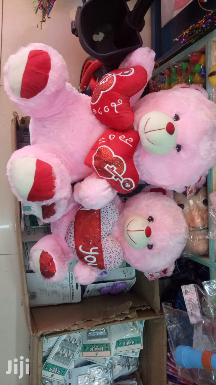 Pink Teddy Bear #Valentine Gifts
