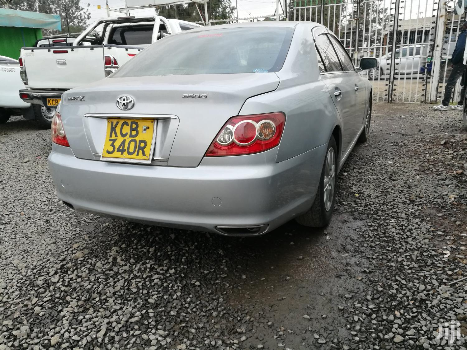 Archive: Toyota Mark X 2007 Silver