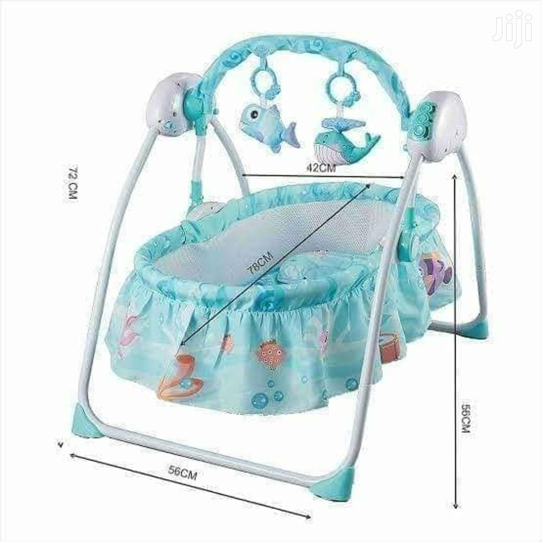 Electric Baby Bed Swing/Cradle