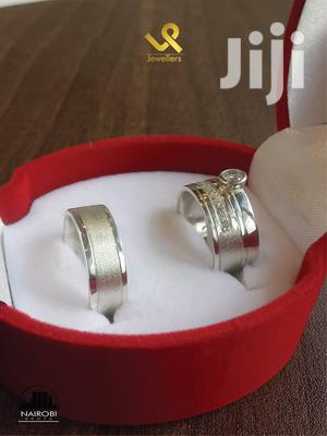 Custom Made Couples Silver Wedding Band Rings   Wedding Wear & Accessories for sale in Nairobi, Nairobi Central