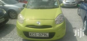 Nissan March 2011 Green | Cars for sale in Mombasa, Changamwe