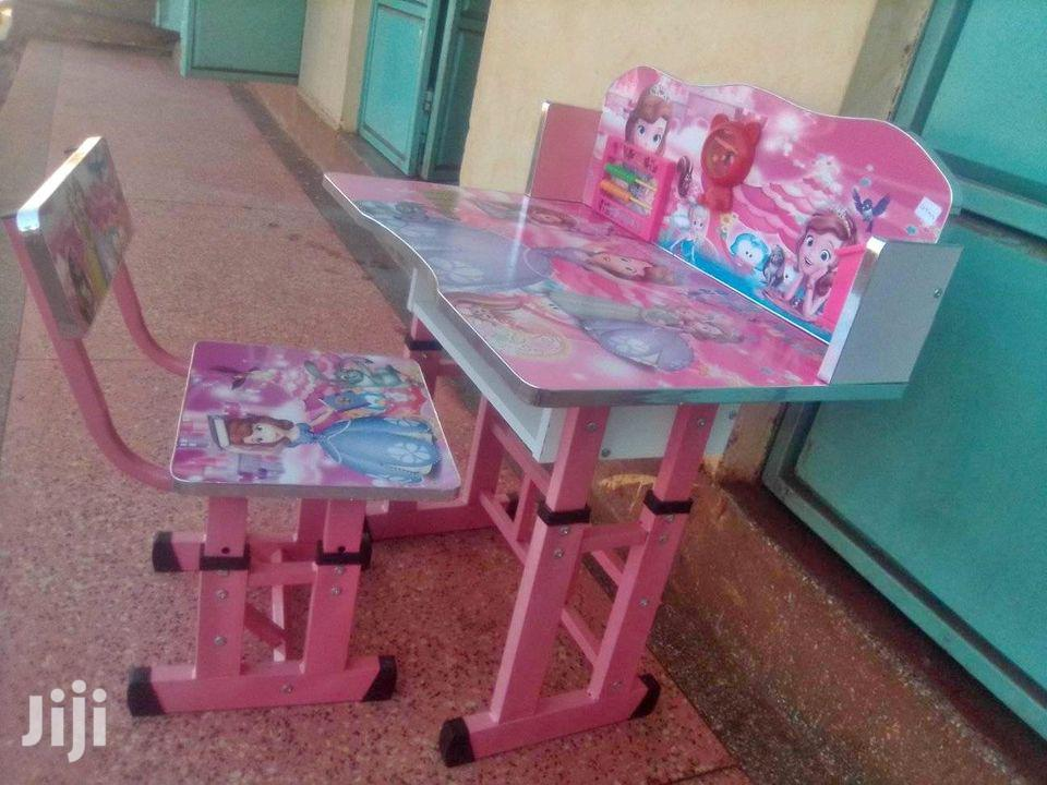 Kids Children Home Study Chair Table Storage Carto