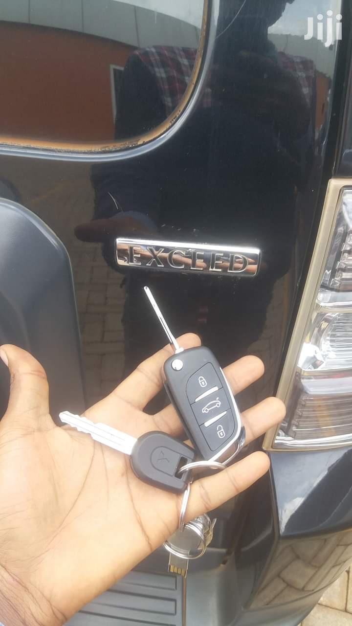 Archive: Mitsubishi Pajero Spare Car Key Programming