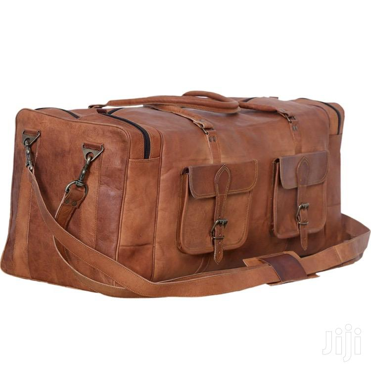 Leather Duffle Bag   Bags for sale in Nairobi Central, Nairobi, Kenya