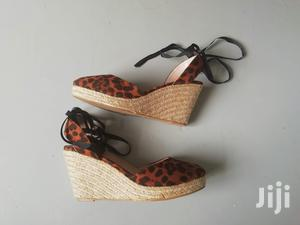 Animal Print Wedges From Miss Selfridge   Shoes for sale in Nairobi, Kilimani