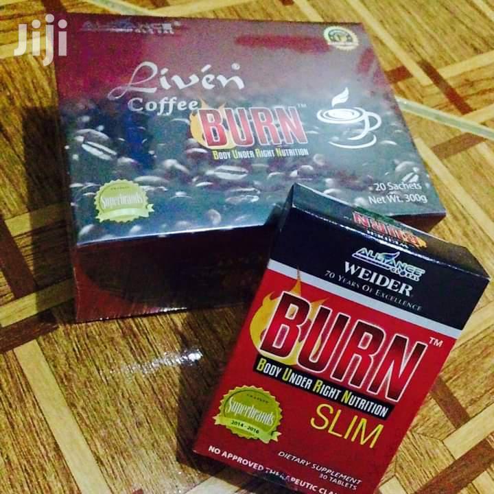 Burn Slim 30 Tablets and Burn Coffee