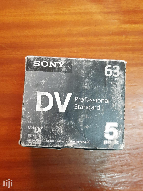 Sony DV Tapes