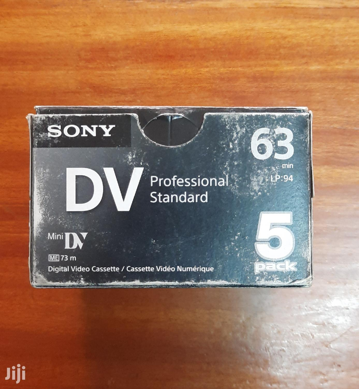Sony DV Tapes   CDs & DVDs for sale in Westlands, Nairobi, Kenya