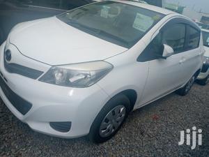 Toyota Vitz 2014 White   Cars for sale in Mombasa, Tudor