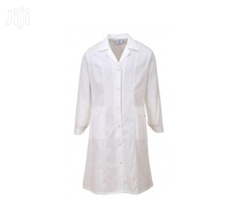 We Supply Branded Lab Coats Dust Coats