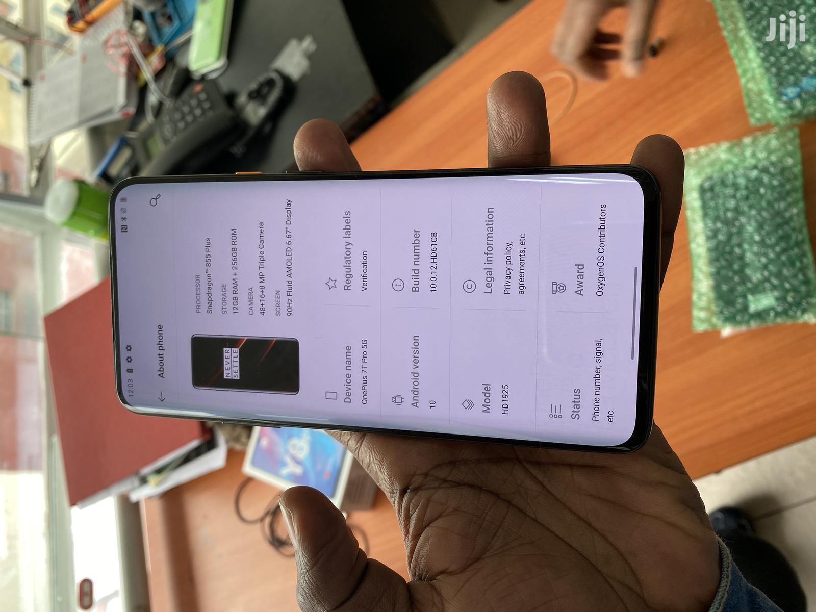New OnePlus 7T Pro 5G McLaren 256 GB Black | Mobile Phones for sale in Nairobi Central, Nairobi, Kenya