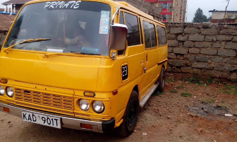 Nissan E23 1994 Yellow