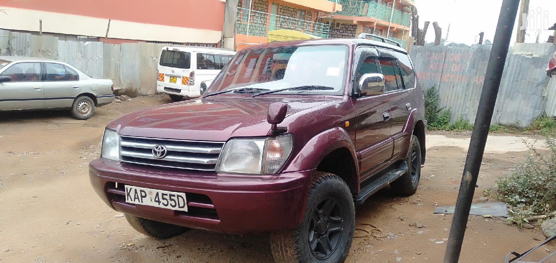 Toyota Land Cruiser Prado 2007 Red
