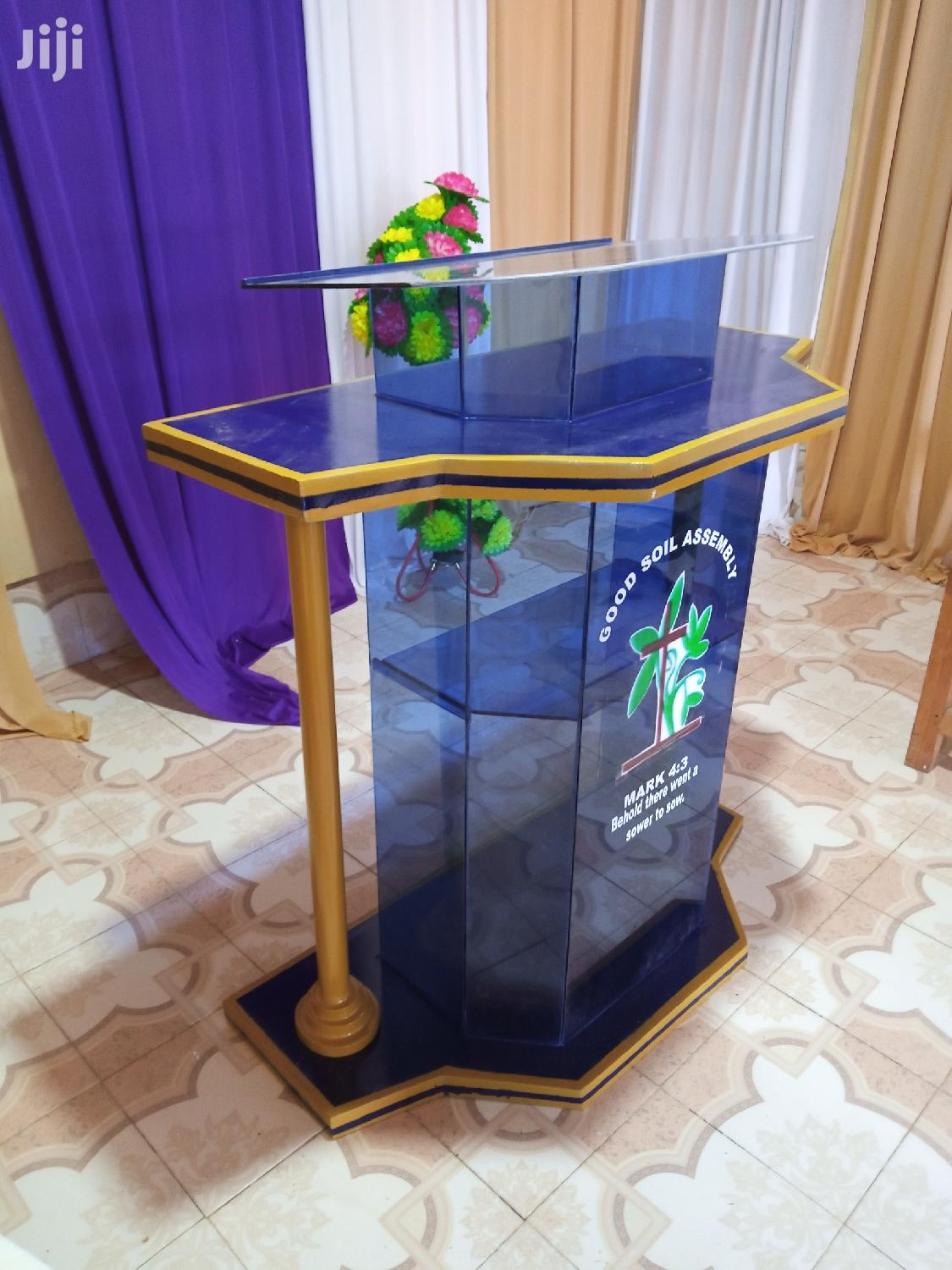 Pulpits/Podiums