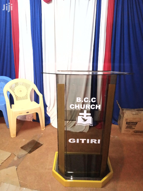Pulpits/ Podiums | Furniture for sale in Nairobi Central, Nairobi, Kenya