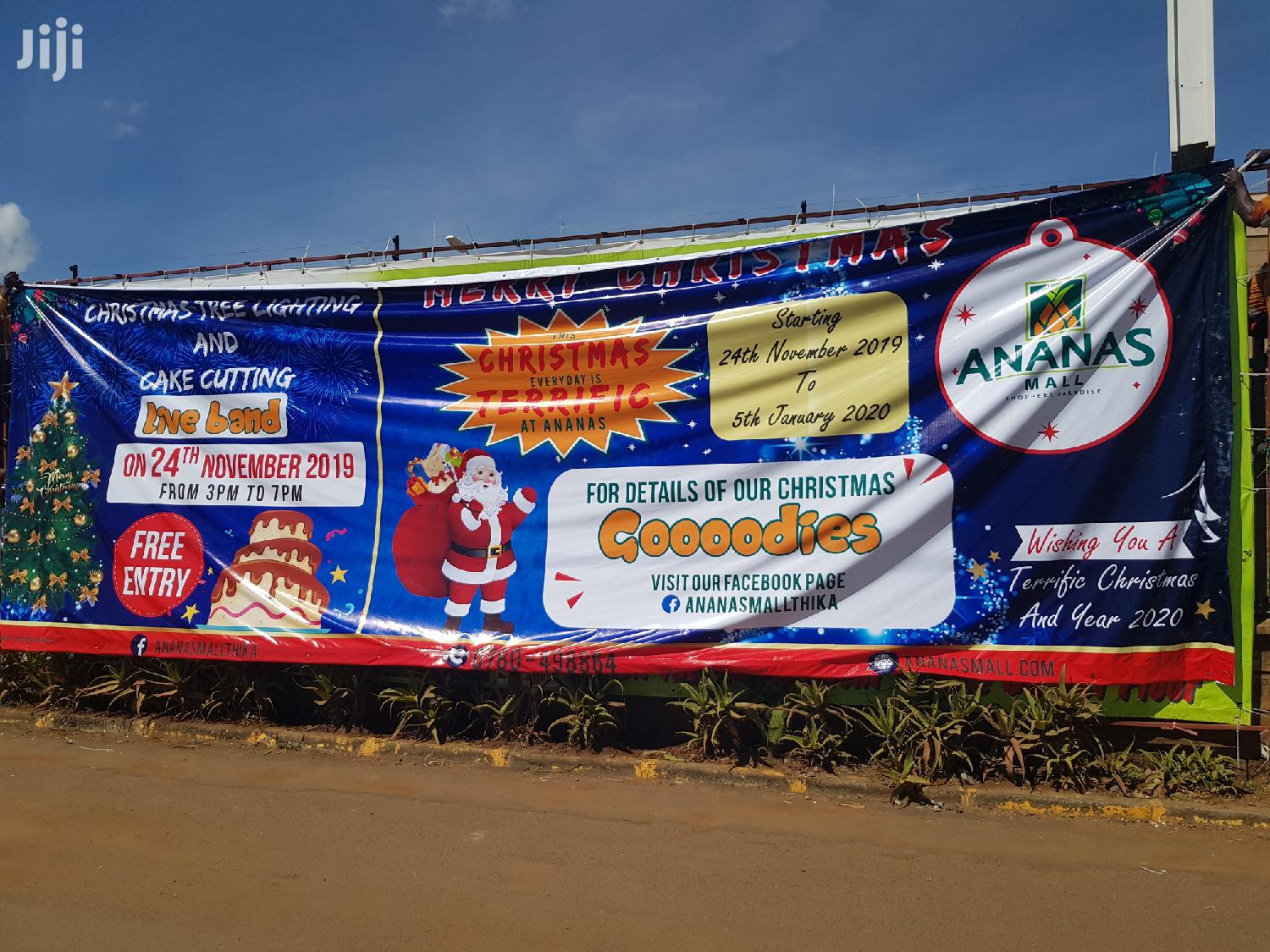 Get Printing Services Of Banners,3d Signages And Stickers