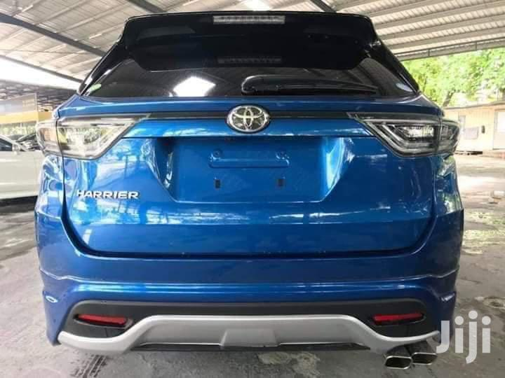 Toyota Harrier 2014 Blue