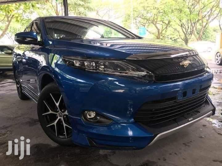 Toyota Harrier 2014 Blue | Cars for sale in Ziwa la Ng'ombe , Mombasa, Kenya