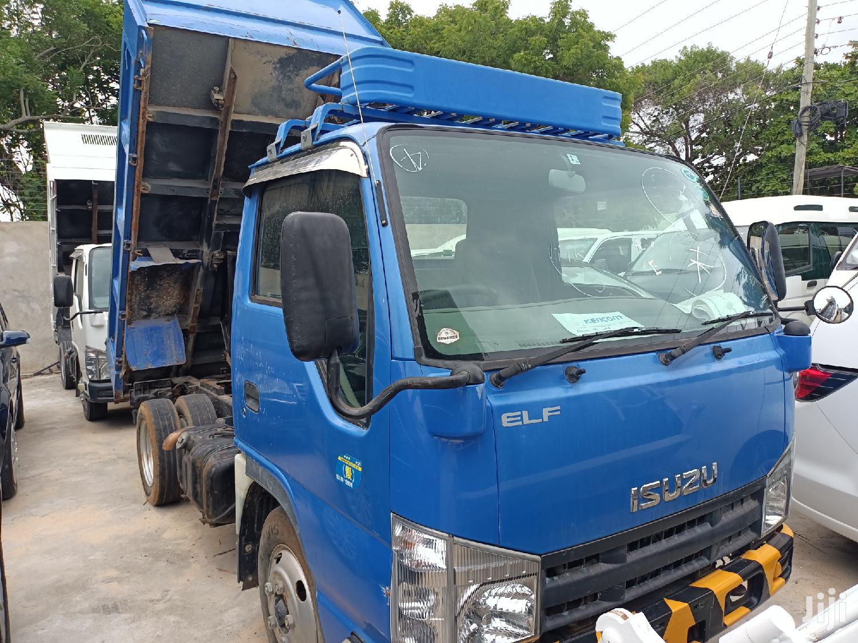 Manual Diesel Isuzu ELF Tipper 2013 Blue For Sale | Trucks & Trailers for sale in Nyali, Mombasa, Kenya