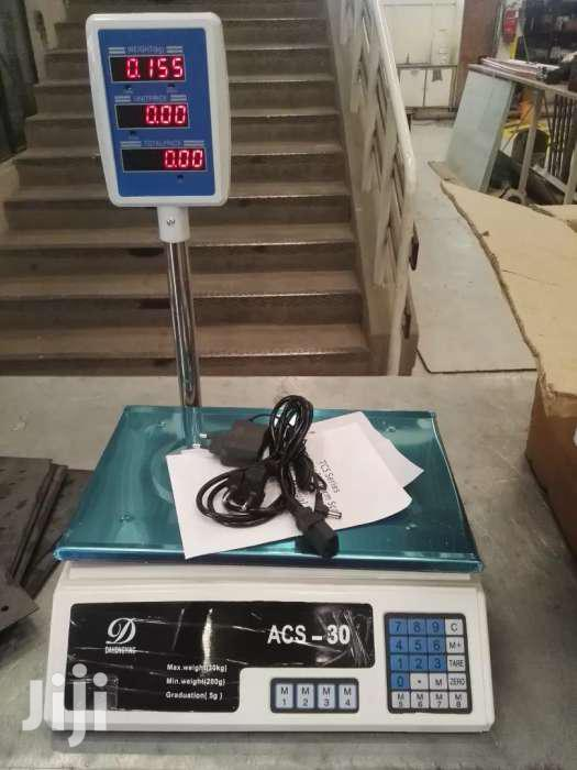 Archive: 30kg Capacity Butchery, Bakery Weighing Scale With Free Delivery