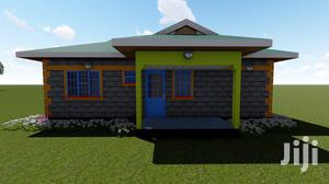 Architectural Plan 2bedroom Bungalow House Two Brm001 | Building & Trades Services for sale in Nairobi, Nairobi Central