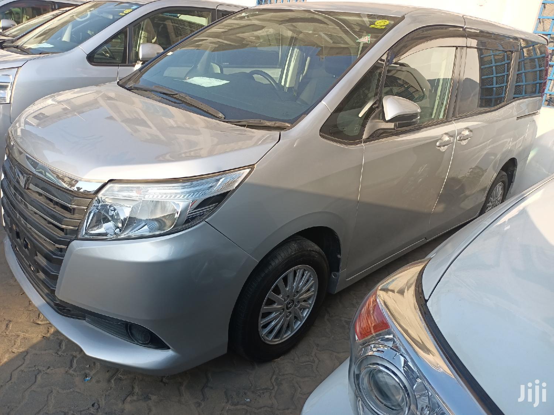 Toyota Noah 2015 Silver   Cars for sale in Ganjoni, Mombasa, Kenya